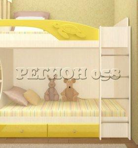 Бемби двухярусная кровать