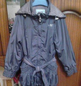 Куртка-ветровка для девочки, рост 122 см
