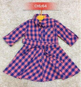 Рубашка платье для девочки