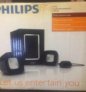 Колонки philips 2.1 44 W