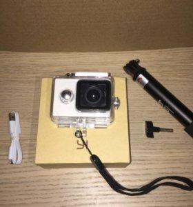 Экшн-камера Xiaomi yi action camera (Комплект)