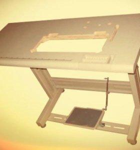 Стол с электроприводом. Швейное оборудование.