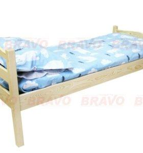 Кровать Массив дерева