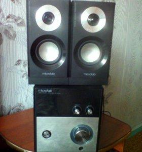 Акустическая система Mikrolab multimedia speaker s
