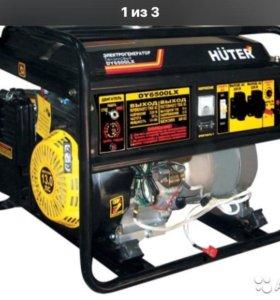 Генератор huter DY6500LX