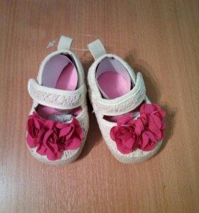 Детская обувь. Новые