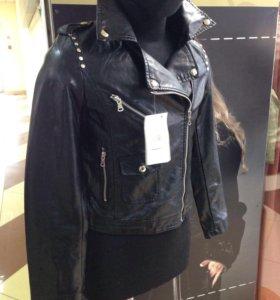 Куртка новая экокожа!