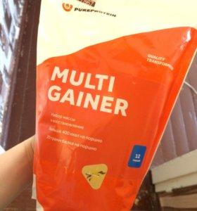 Гейнер Pureprotein 1,2кг. Клубника/ваниль