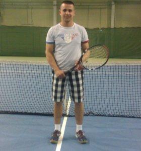 Личный тренер по большому теннису