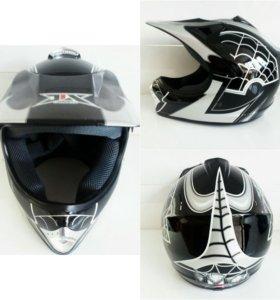 Кросс Шлем Spider Man Black xs 601-1