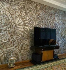Современные декоративные стены