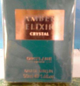 Парфюмерная вода AMBER ELIXIR crystal 50мл