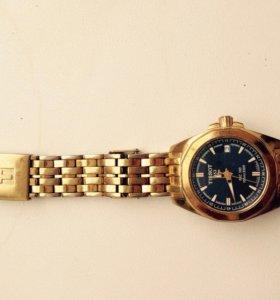 Часы tissot оригинал! Позолоченные!