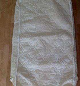 Наматрасник для детской кроватки