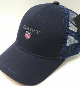 Кепка бейсболка мужская Gant (blue) сетка