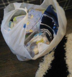 Детские вещи ( боди,ползунки,распашонки и т.д)