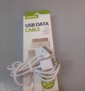 USB кабель Remax на iPhone 4/4s