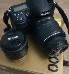 Nikon d7000+ два объектива