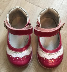 Лаковые туфельки Elegami 19 размер