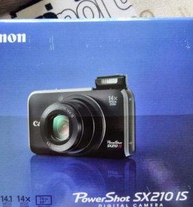 Цифровой фотоаппарат Canon PowerShot SX210