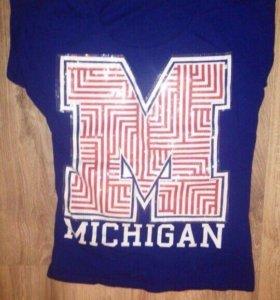 Женская/молодежная футболка Michigan