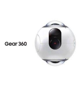 Панорамная камера Samsung Gear 360 SM-C200 (white)