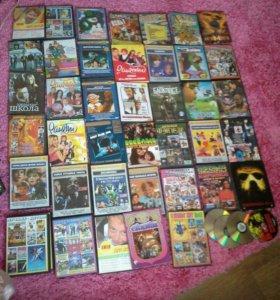 45шт дисков детское и подрастковое кино