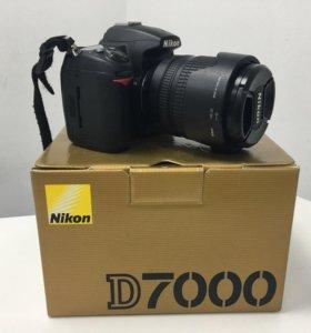 Фотоаппарат Nikon D7000+объектив Nikon 18-105mm