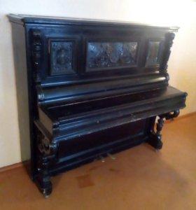 Пианино старинное, G. Leppenberg (1892 г.в.)