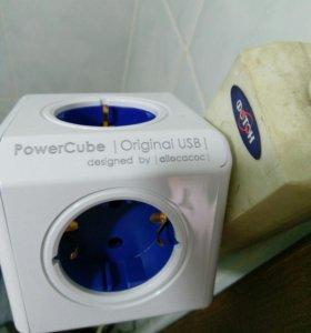 Магический куб - разветвитель э/питания + USB заря
