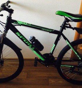 Велосипед MTB Sport в полной комплектации