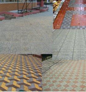 Тротуарная плитка бордюр водосток козырёк вазоны
