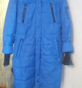 Куртка пуховик зимний р.50