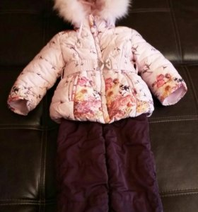 Куртка и полукомбинезон на девочку