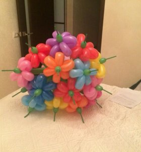 Букеты из шаров