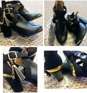 Новые ботинки suiteblanco