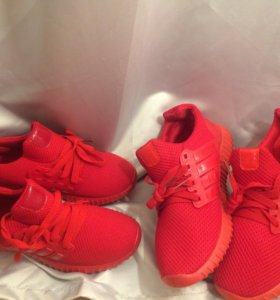 Реплика Adidas Red yeezy  Boost кроссовки красные