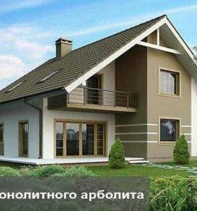 Дом Арболита Блоки