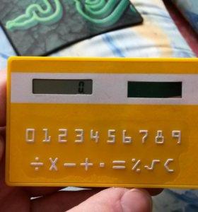 Вечный калькулятор карточка (новый)