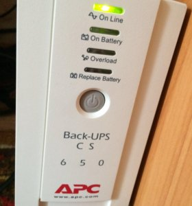 ИБП APC Back-UPS CS-650