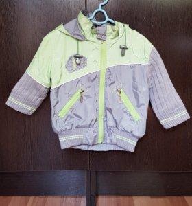 Куртка на весну 1-2 года