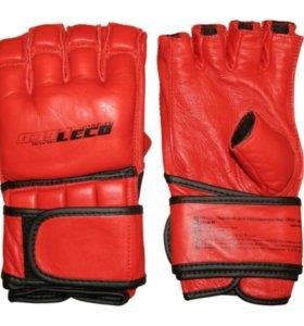 Перчатки для рукопашного боя ПРО Натуральная Кожа