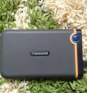 Внешний жесткий диск Transcend 250Gb