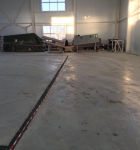 Бетонный - промышленный пол: топинг, полимер