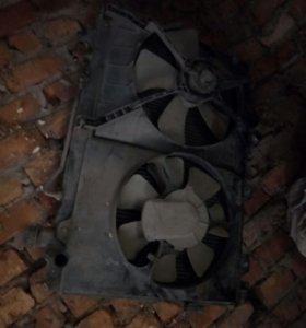 Радиатор основной на тойоту ипсум 97 год