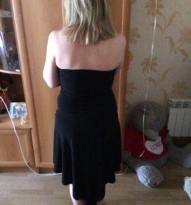 Платье чёрное ( коктельное)