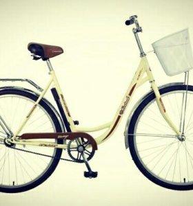 """Велосипед прогулочный Vintage 28"""" Novatrack"""