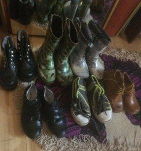 Резиновые сапоги,ботинки весна 29-30