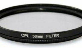 Фотофильтры CPL-58mm. Grad grey-58mm