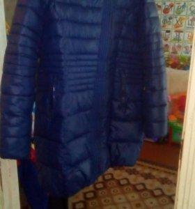 Продам зимнее пальто в хорошем состояние размер60
